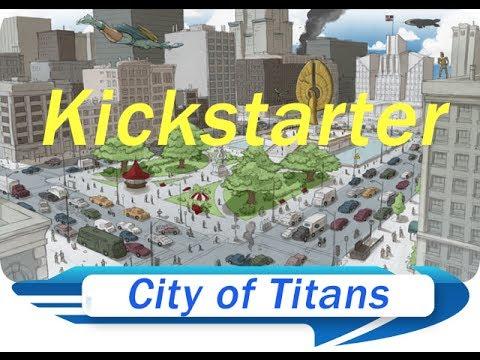 City of Titans - City of Heroes spiritual successor [Kickstarter]