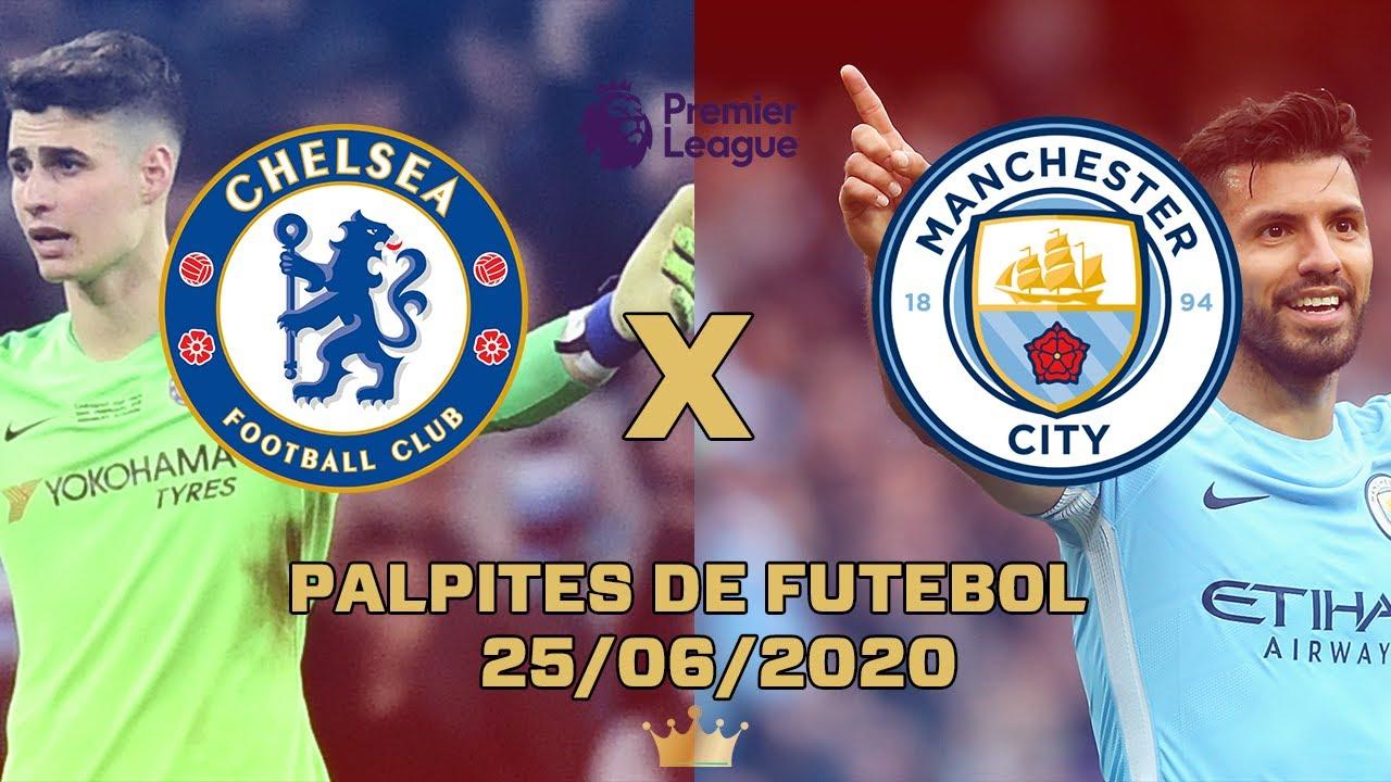 Palpites de Futebol Quinta 25/06/2020