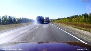 Случаи на дорогах. Саратов 2017 год #3