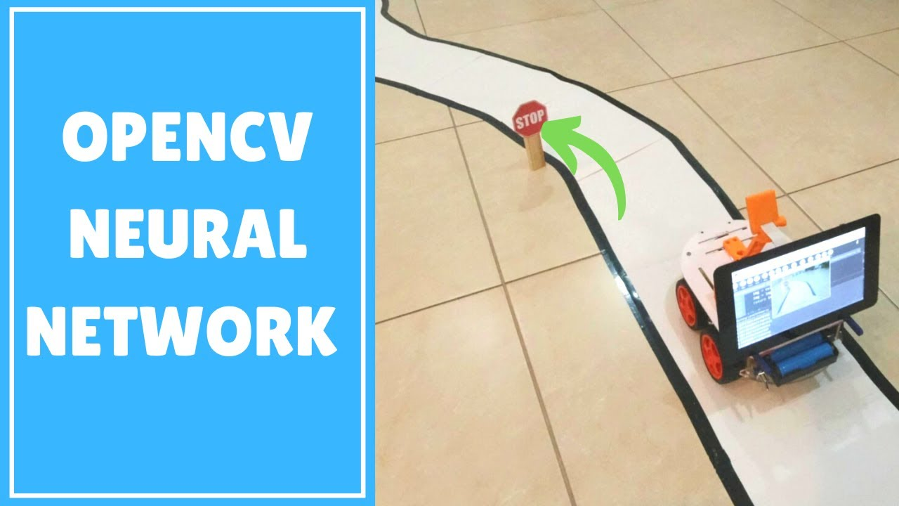 OpenCV Neural Network Self Driving Car using Raspberry Pi 2020
