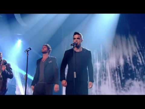 Take Thats 1st TV performance reunited with Robbie Williams  X Factor 2010