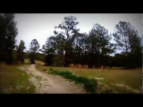 The Rock Mountain Bike Trail in Gainesville, FL
