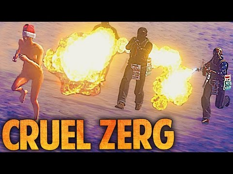 THE MOST CRUEL ZERG CLAN EVER SEEN - Rust - Ep. 9
