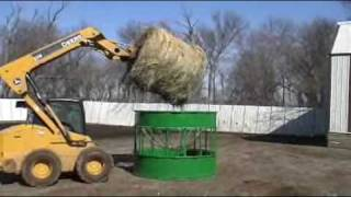 Hay Hoppper Goat And Sheep Feeder