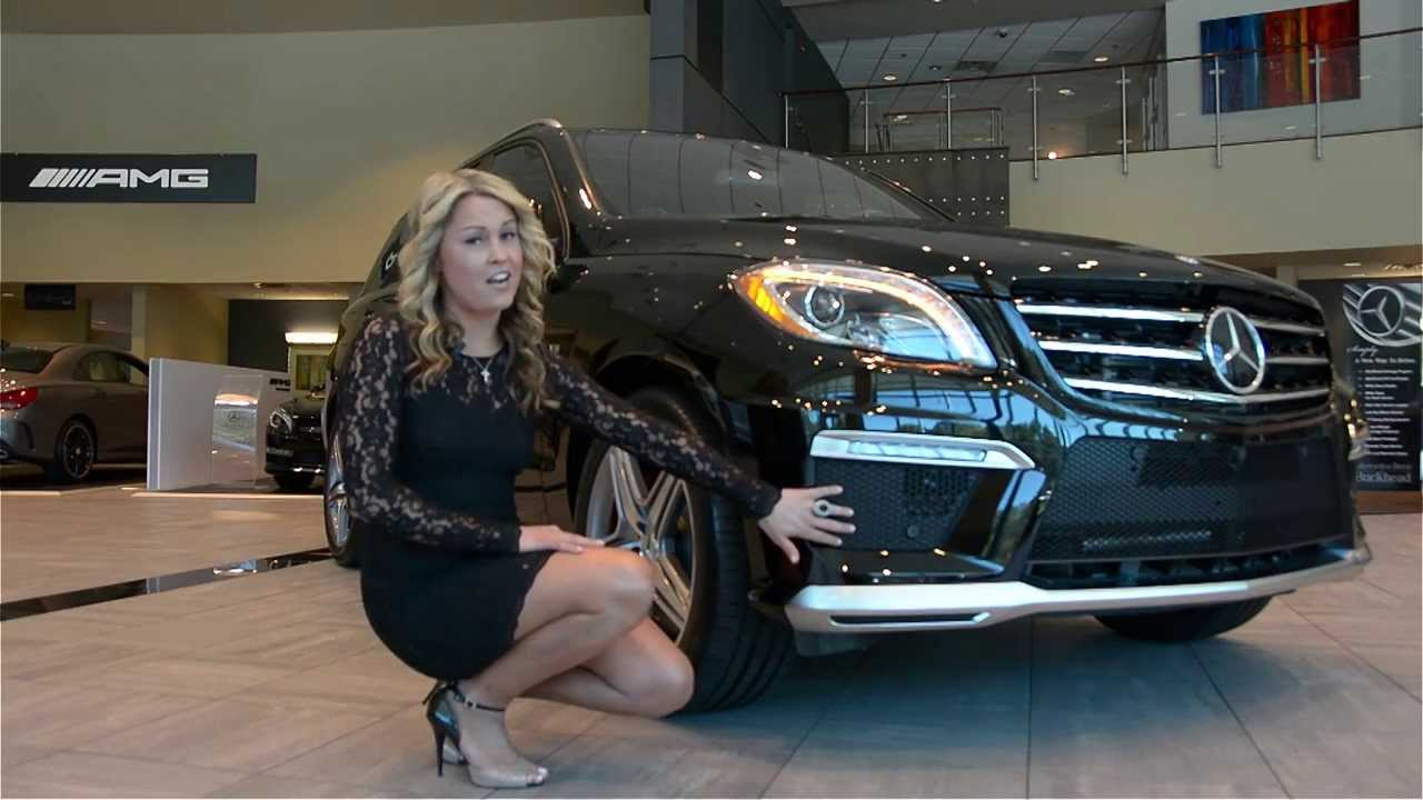 Mercedes Benz Of Buckhead >> Emily Introduces the 2014 Mercedes-Benz ML 63 AMG - YouTube