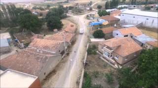 nevşehir avonos akarca kasabası havadan çekim...