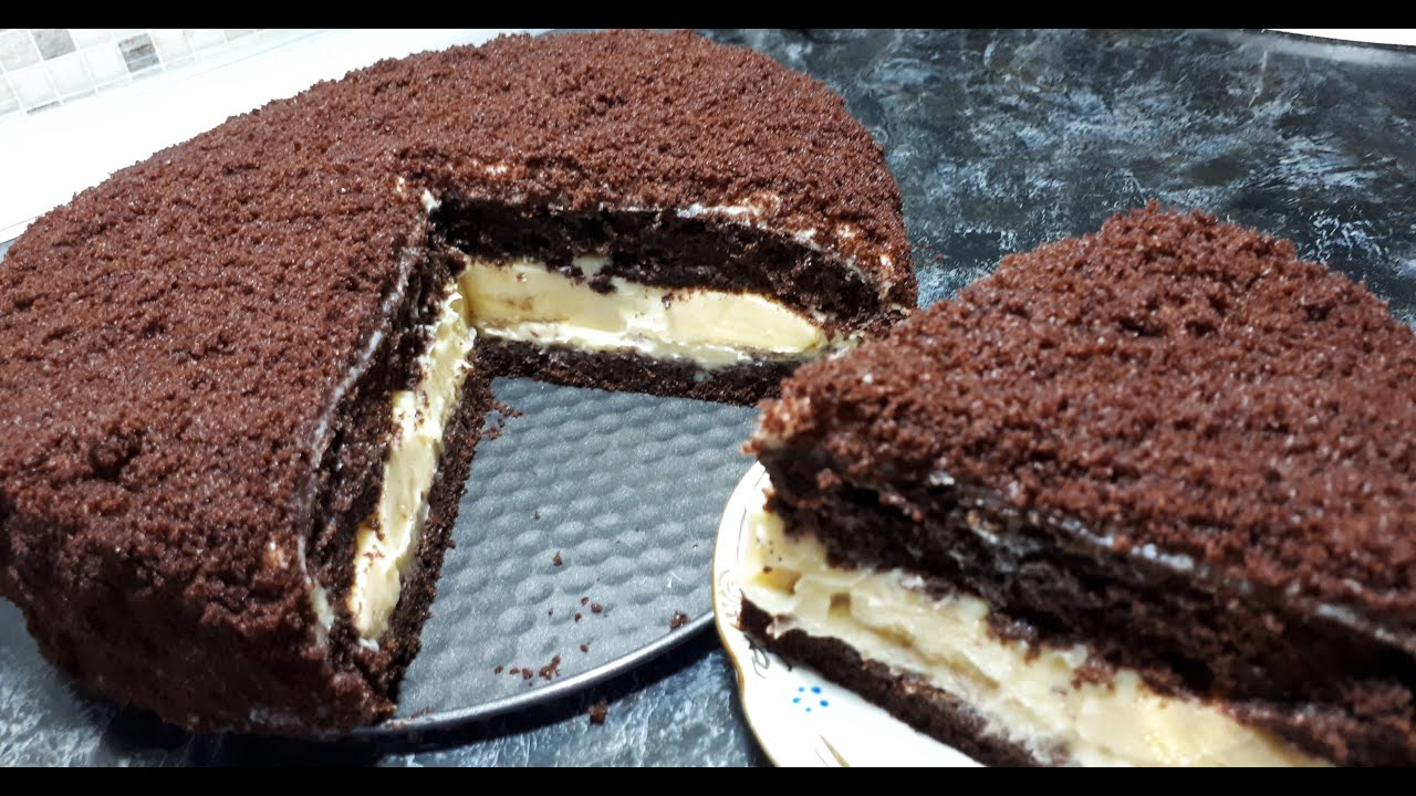 Вкуснющий Детский Шоколадный Торт »Норка Крота» Самый Вкусный Рецепт к чаю   Tasty Pastries Recipe