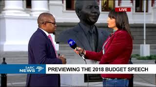 Previewing the 2018 budget speech