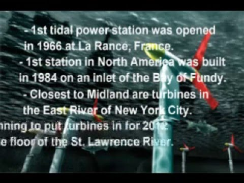 Tidal Energy Project Video