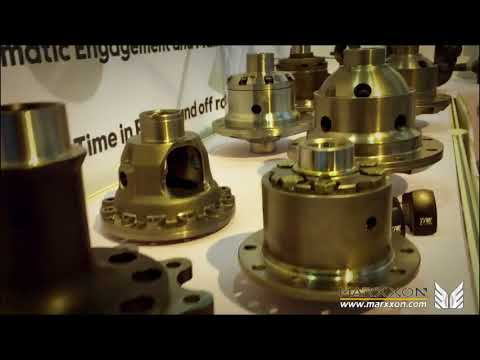 MARXXON Industrial exhibition Automechanica Shanghai 2017 Peugeot citroen Rear axle TRE Air locker