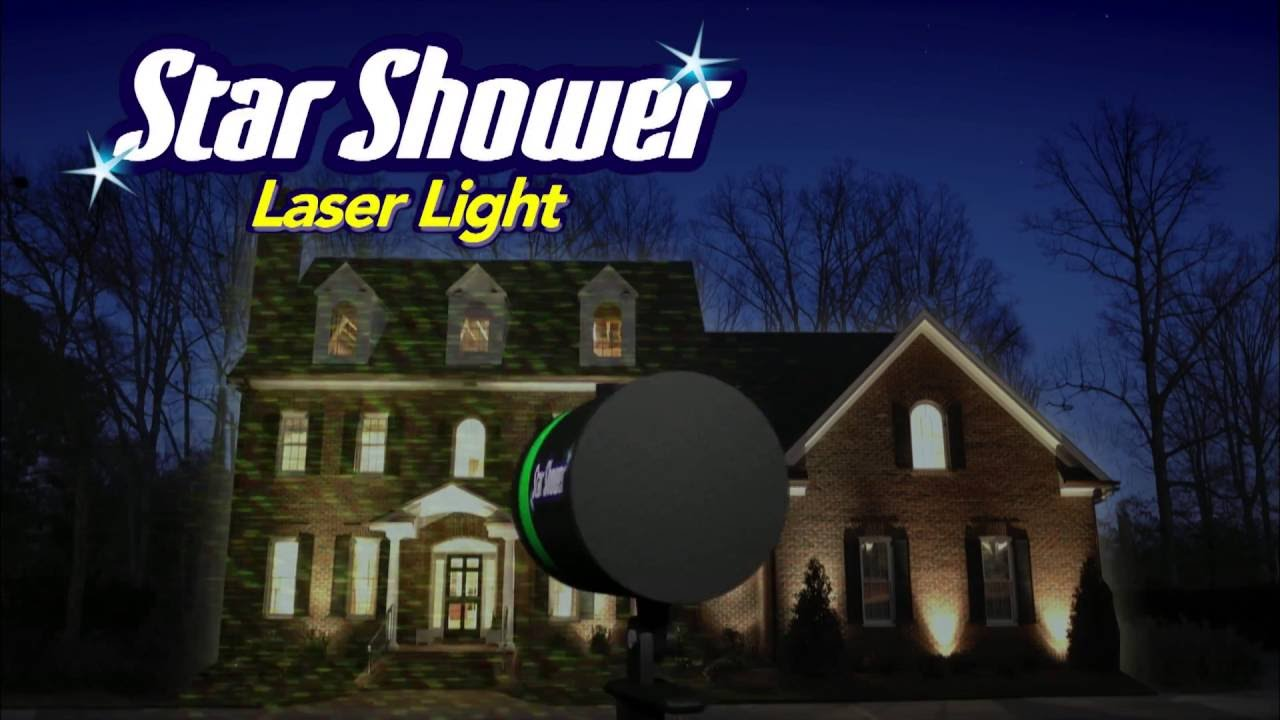 Laser Light System Star Shower Motion Laserlichtsystem