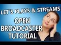 obs open broadcaster software tutorial german deutsch aufnahmeprogramm kostenlos pc
