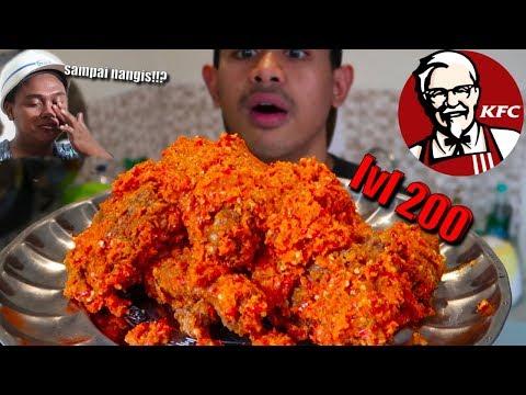 Image of NANGIS!! MUKBANG KFC BALADO PADANG LV 200 ALA TANBOY KUN FT BM BOIS