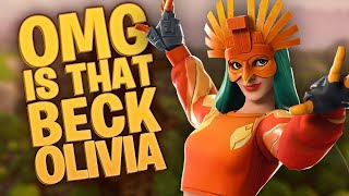 (EU)CUSTOM MATCHMAKING WITH A GIRL?! | CODE- beck | USE CODE beckolivia19 IN THE SHOP | road to1.7K