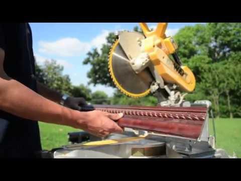 Super Easy Way To Cut Crown Moulding On Miter Saw Dewalt