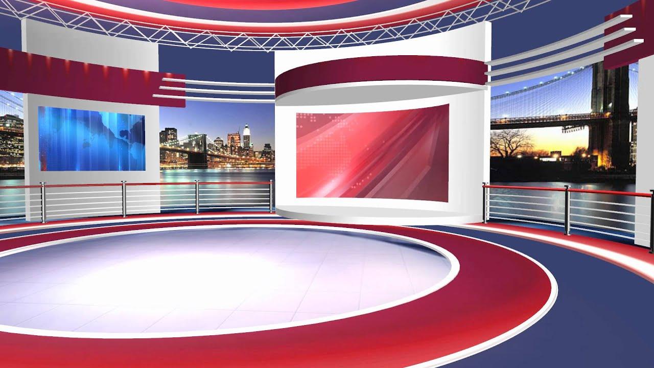 news set design