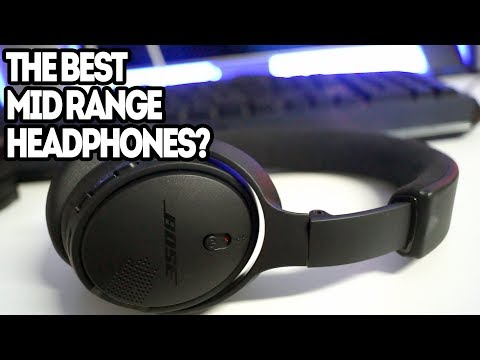 Bose soundlink around-ear wireless headphones review