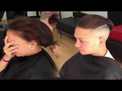 extreme-haircut-undercut-very-short-pixie-buzz-cut---barbershop
