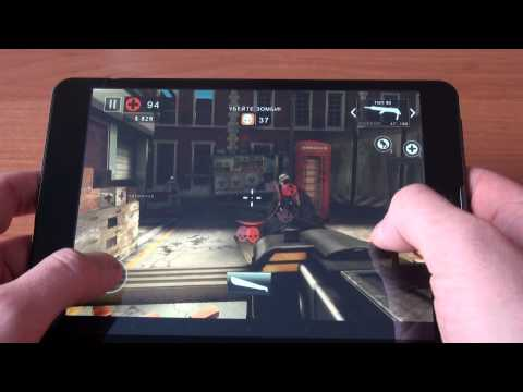 teXet NaviPad TM 7887 3G Dead Trigger 2 GamePlay