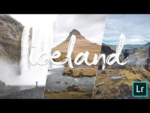 How to edit your iceland photos in lightroom mobile | Tutorial | Iceland feed tone