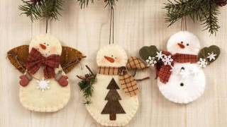 Делаем снеговика из подручных материалов ( идеи )