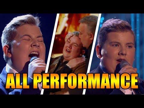 Kyle Tomlinson Singer Britain's Got Talent 2017 ALL Performances GTF