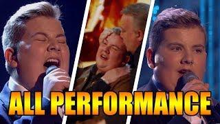Kyle Tomlinson Singer Britain's Got Talent 2017 ALL Performances|GTF