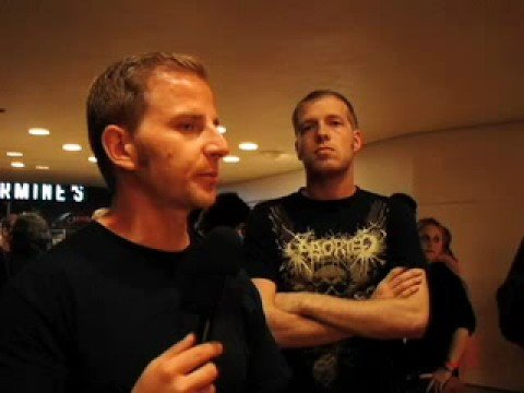 NECROPHAGIST Interview Fall 2008 - When is the new album coming out? - Metal Injection TV