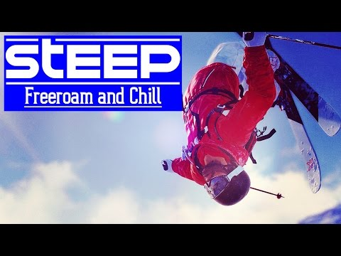 STEEP - Amazing Jumps and Dope Music - Freeroam and Chill [1440p60]