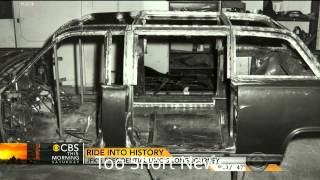 JFK's Limo after Dallas at White House Garage (Discovery)