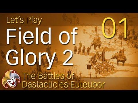 Field of Glory 2 ~ Bactrian Campaign ~ 01 Battle vs Seleucids