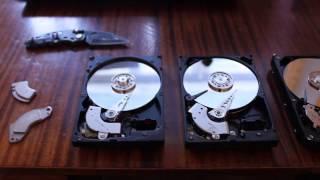 Что можно сделать из старых жестких дисков \ 4 ideas- wthat can be made from an old  Hard Disk Drive
