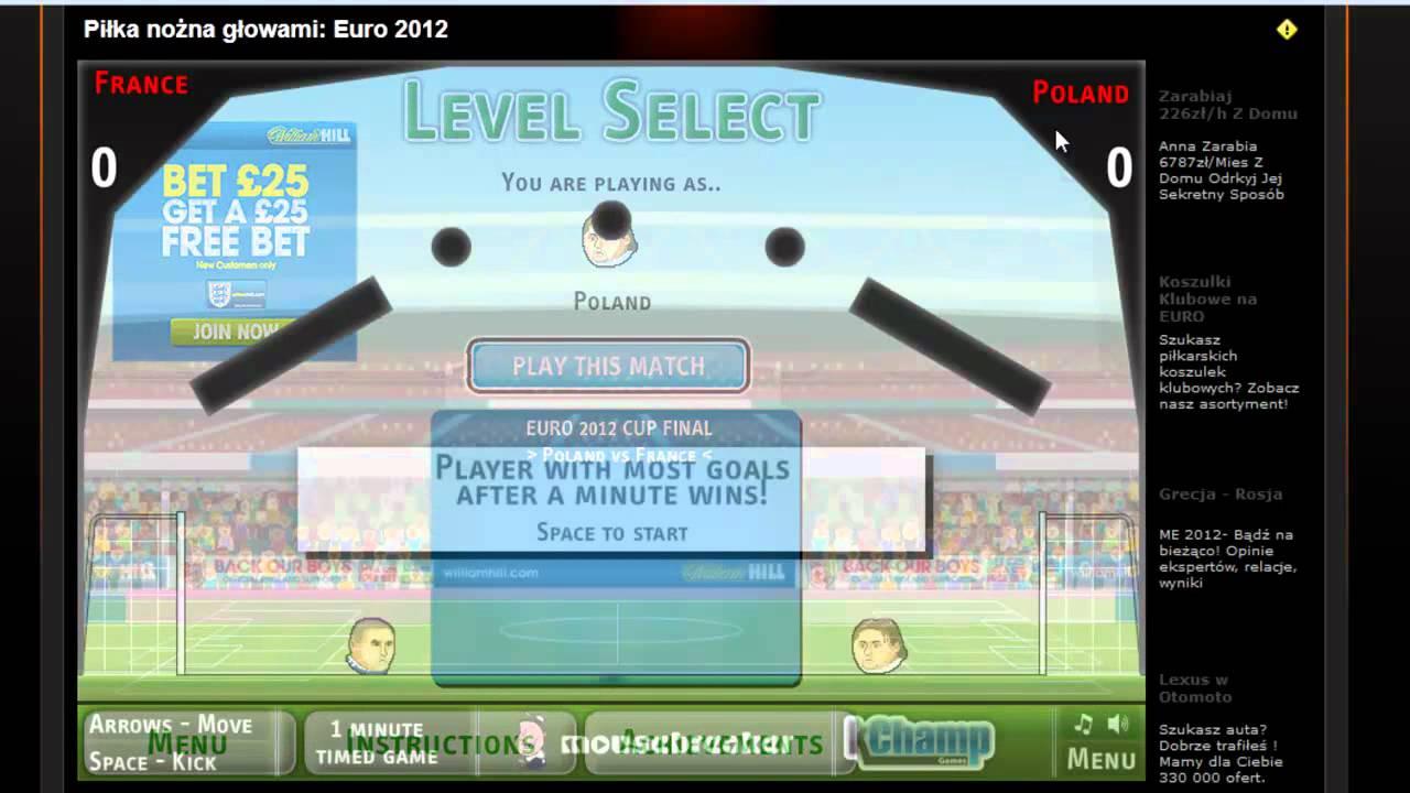 piłka nożna głowami euro