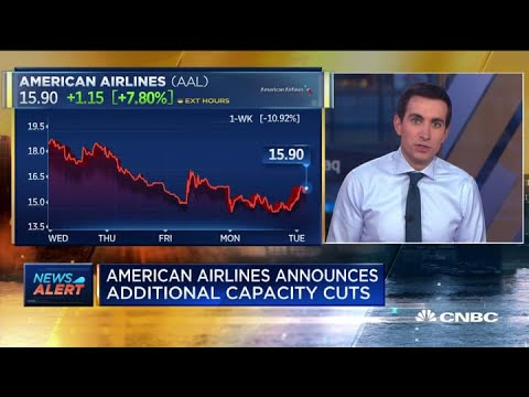 American Airlines Announces More Capacity Cuts Due To Falling Consumer Demand