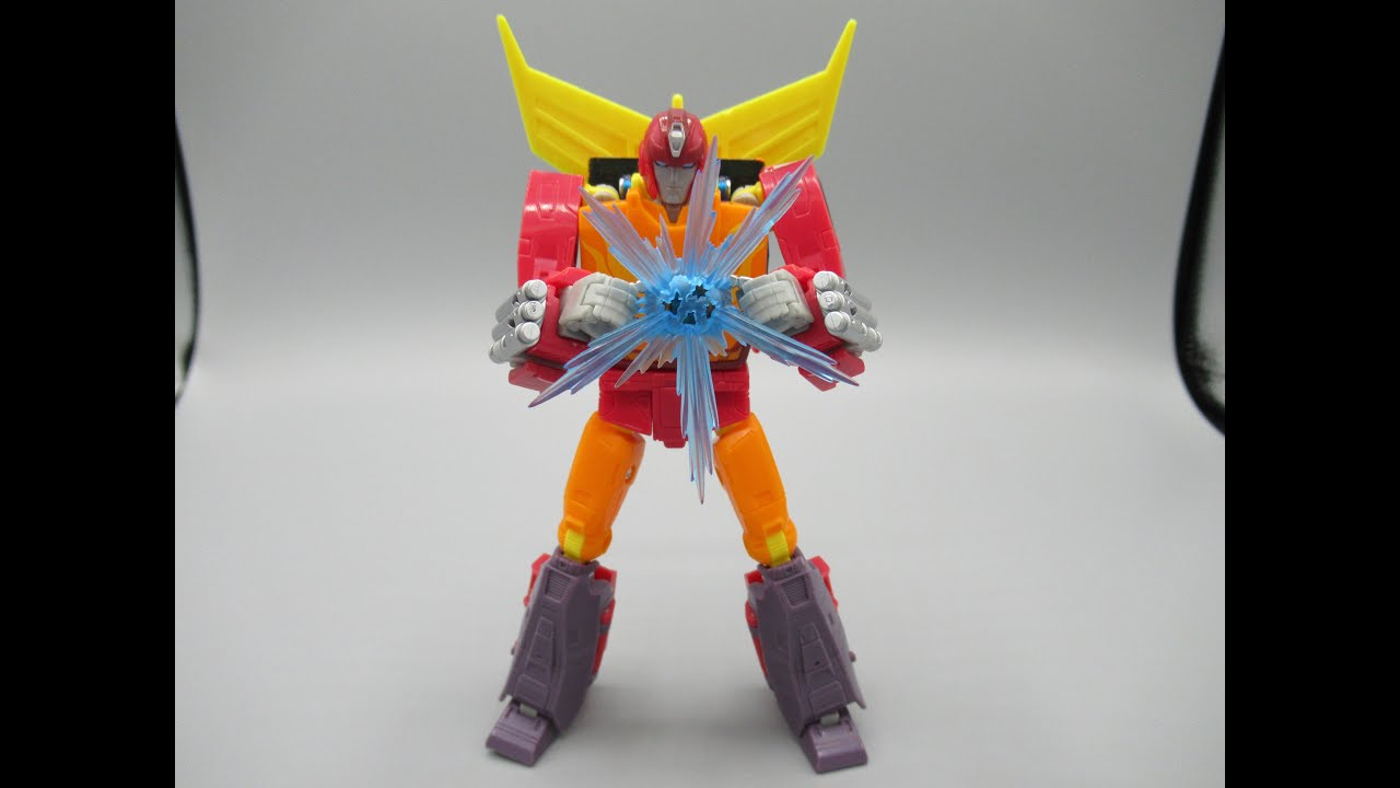 NEW SS86 Voyager Class Autobot Hot Rod Figure Review by CannibalChow