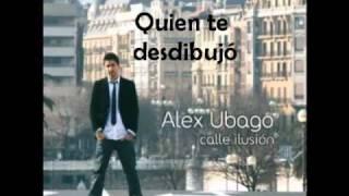 ALEX UBAGO - NO ESTAS SOLA (Con Letra)