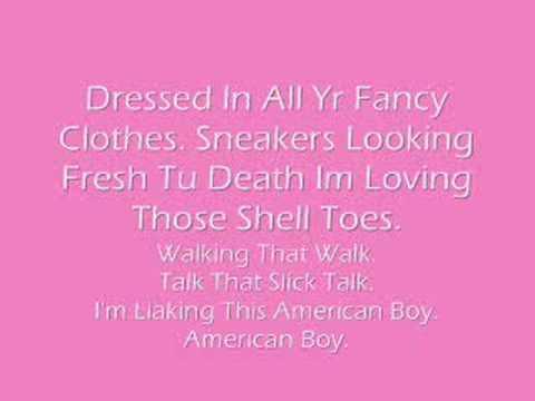 Estelle Ft. Kanye West. American Boy. With Lyrics.