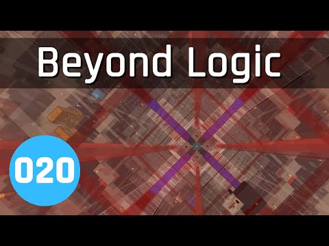 Beyond Logic #20: Quad Item Elevator Core | Minecraft