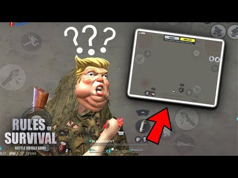 Trying New Buttons Layout + Kill Montage   Rules of Survival