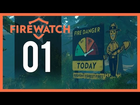 Firewatch Gameplay - Part 1 - New Job (PC Let's Play)