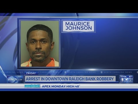 Man arrested in Raleigh bank robbery