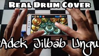 Adek jilbab ungu -  Real Drum Cover