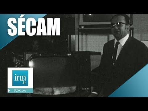Un radio électricien Sétois a construit un récepteur de télévision Sécam   Archive INA