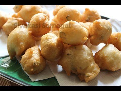 Easy Bonda(ஈஸி போண்டா)Sivakasi Samayal / Recipe - 241