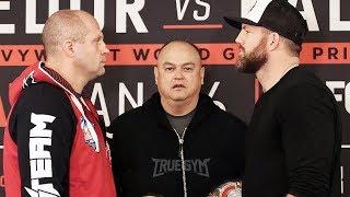 Пресс-конференция Фёдор Емельяненко - Райан Бейдер перед боем на Bellator 214