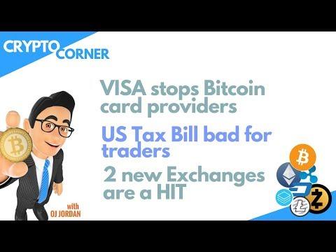 CRYPTO CORNER | Visa shuts cards, Binance + Kucoin more popular, Ripple is down + more
