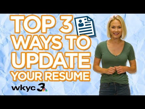 Top 3 Ways to Update Your Resume Even With No Job Experience