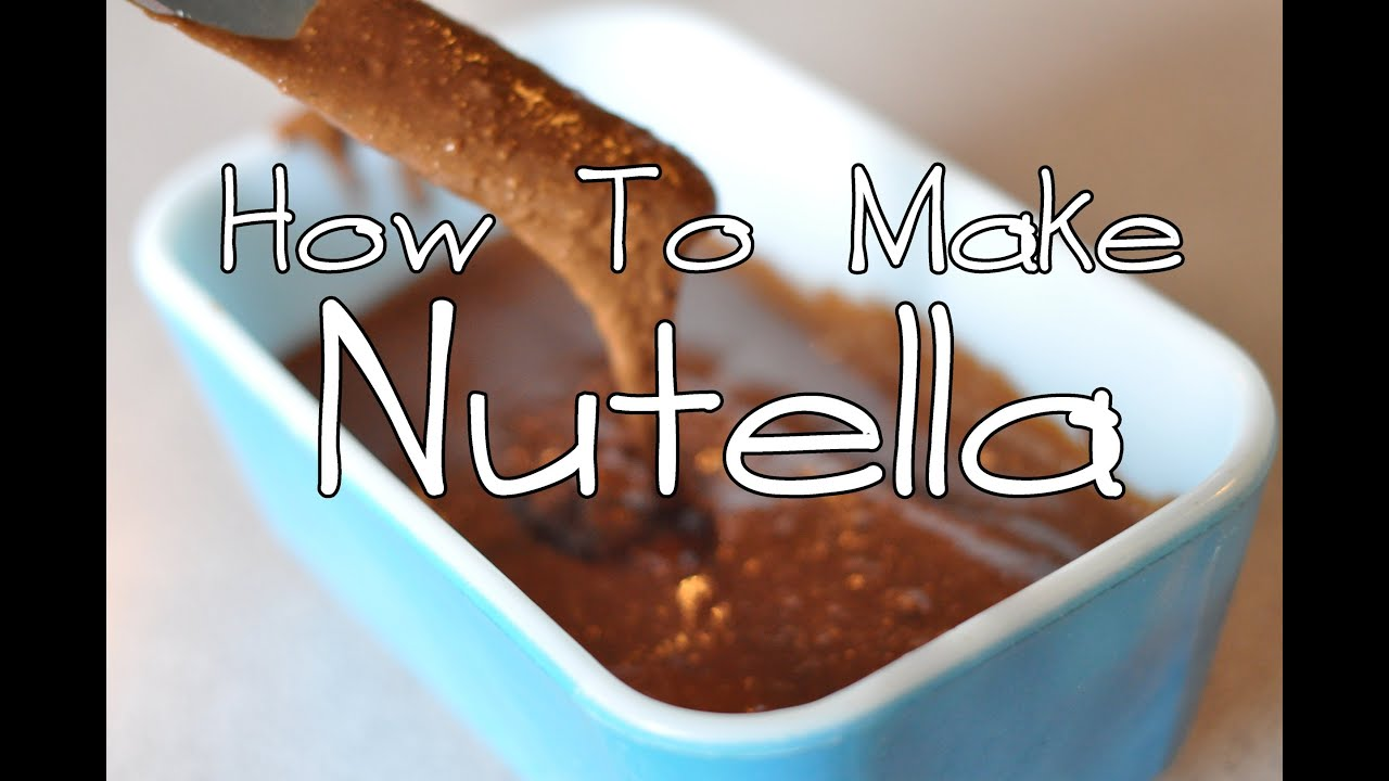 how to make nutella spreadable