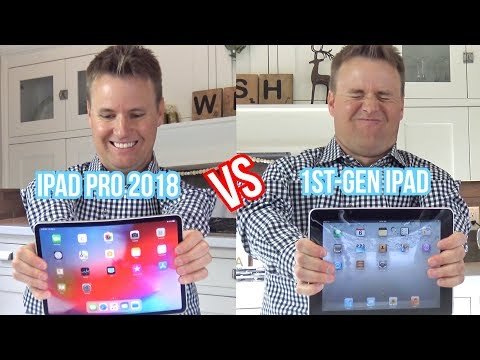 What's inside Apple's iPad Pro vs First iPad?