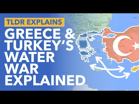 Why are Turkey & Greece Fighting Over Oil Rights in the Mediterranean - TLDR News
